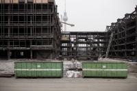 Demolition of 'Palast der Republik' 2007